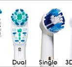 Tandborsthuvuden  5 olika modeller att välja på