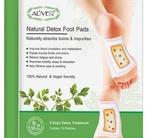 Aliver 100% Natural and Vegan Friendly Detox Foot Pads