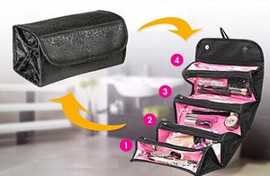 Roll And Go Portable Waterproof Cosmetic Bag